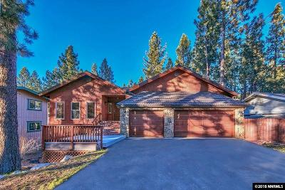 Zephyr Cove Single Family Home For Sale: 1092 Deer Cliff Drive