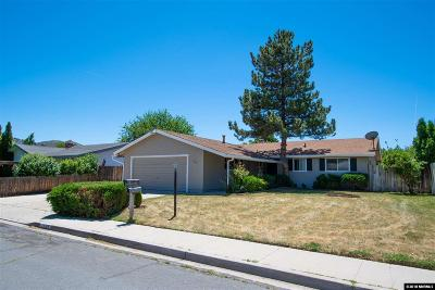 Carson City Single Family Home For Sale: 1139 Sonoma St