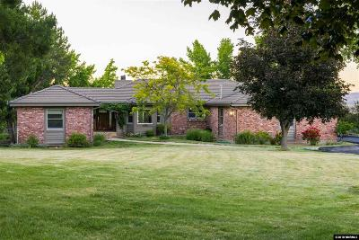 Reno Single Family Home Active/Pending-Loan: 1595 Twin Oaks