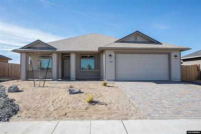 Fernley Single Family Home For Sale: 1268 Rainbow Ln