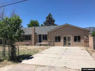 Carson City Single Family Home For Sale: 2100 Poole Way