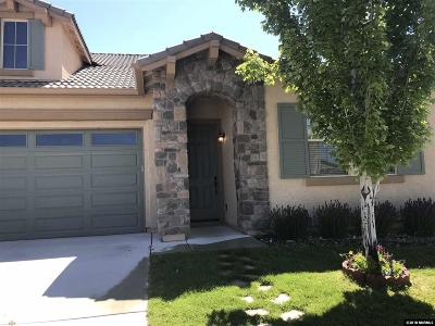 Sparks Single Family Home For Sale: 7351 Windswept Loop Dr
