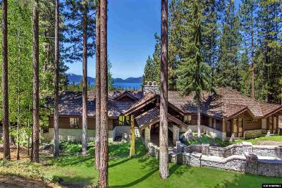 Glenbrook NV Single Family Home For Sale: $9,980,000