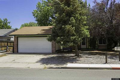 Sparks Single Family Home Active/Pending-Loan: 909 Palmwood