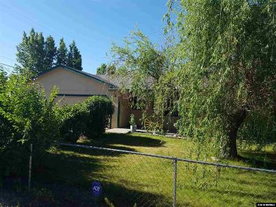 Carson City Single Family Home Active/Pending-House: 4445 E Nye Ln