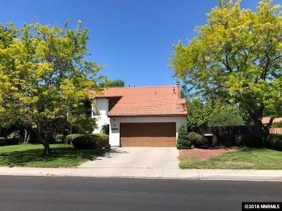 Minden Single Family Home Active/Pending-Loan: 1639 Belarra