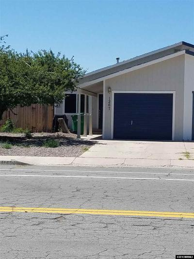Fernley Single Family Home For Sale: 1267 West Newlands