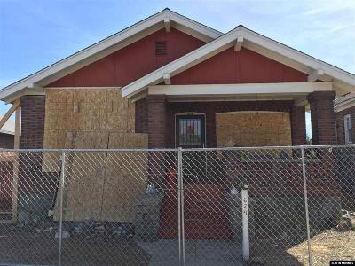 Reno Single Family Home For Sale: 624 Eureka Ave