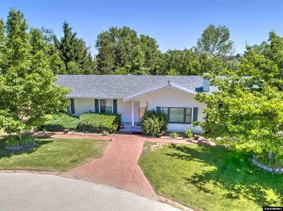 Carson City Single Family Home Active/Pending-Call: 3519 Arcadia Drive