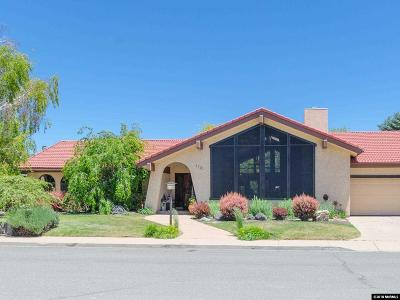 Carson City Single Family Home Active/Pending-Call: 1701 La Mirada St