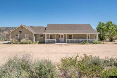 Washoe County Single Family Home For Sale: 450 Appaloosa Circle