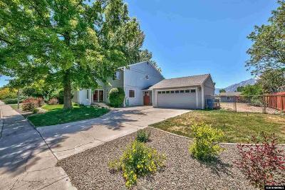 Gardnerville Single Family Home Active/Pending-Loan: 1508 Hussman Ave