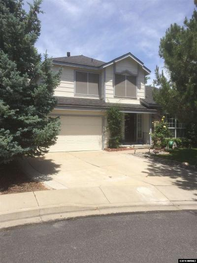 Reno Single Family Home New: 4507 Highcrest Drive