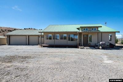 Reno Single Family Home For Sale: 1354 Antelope Valley Road