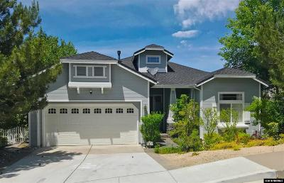Reno Single Family Home New: 3815 Ranch Crest