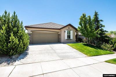 Reno Single Family Home New: 1430 Orchard Park Trail