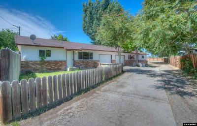Sparks Multi Family Home For Sale: 1007 10th St