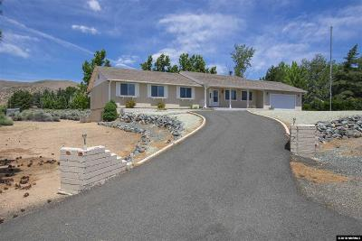 Carson City Single Family Home Active/Pending-Call: 5660 Salk Road