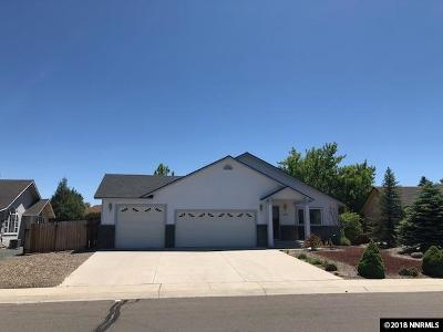 Minden Single Family Home Active/Pending-Loan: 1321 Bridle Wy