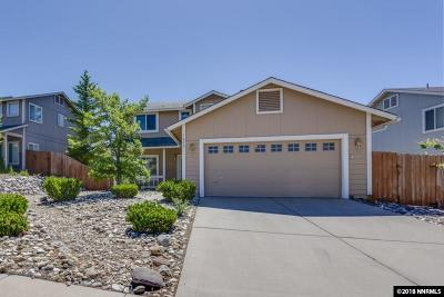 Reno Single Family Home New: 1830 Saturno Heights Drive