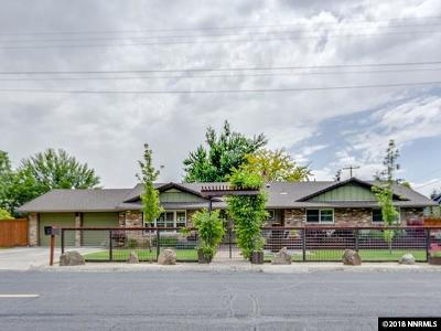 Reno Single Family Home New: 1600 Marsh Ave