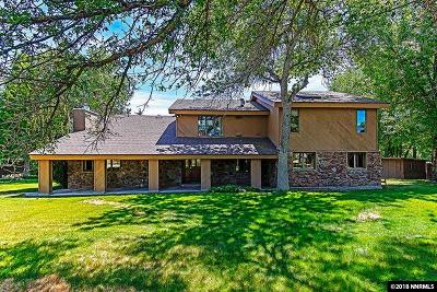 Washoe County Single Family Home For Sale: 2570 Del Monte Lane