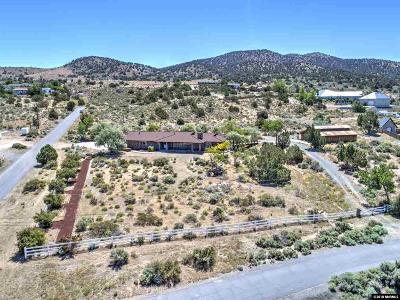 Carson City Single Family Home New: 1751 S Deer Run Rd.