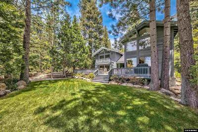 Incline Village Single Family Home For Sale: 493 Country Club
