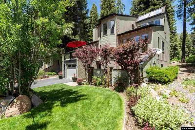 Incline Village Condo/Townhouse For Sale: 698 Birdie
