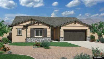 Reno Single Family Home New: 2001 Neviekay Lane #LOT #106