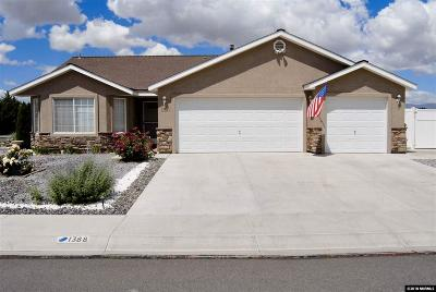 Fernley Single Family Home Active/Pending-Loan: 1388 White Bluffs