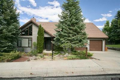 Reno Single Family Home New: 2500 Bryce Canyon Lane