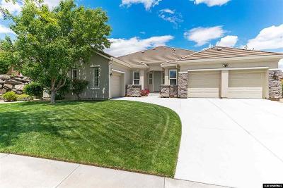 Reno Single Family Home New: 2240 Saddletree Trail