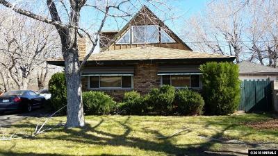 Reno Single Family Home New: 990 Hunterlake