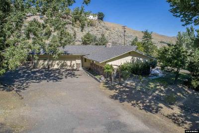 Carson City Single Family Home Active/Pending-House: 3070 Kings Canyon Road