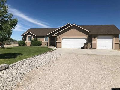 Fallon Single Family Home Active/Pending-Loan: 6290 Westwind Way