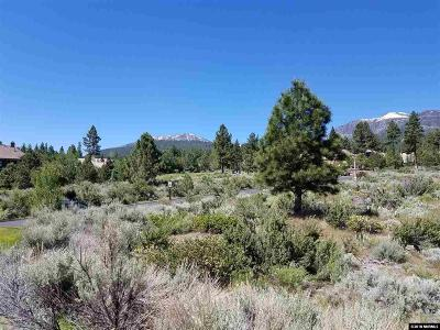Reno Residential Lots & Land Active/Pending-Call: 16980 Salut Ct