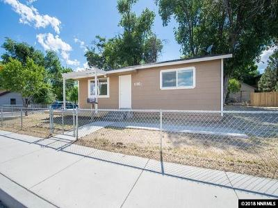 Carson City Single Family Home Active/Pending-Loan: 1300 N Roop Street