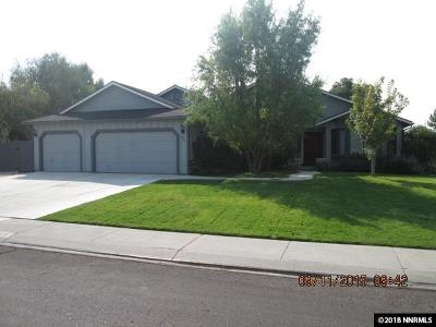Minden Single Family Home Active/Pending-Loan: 829 Tamarack