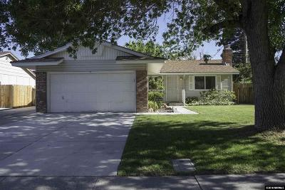 Reno, Sparks, Carson City, Gardnerville Single Family Home New: 1745 Trabert Way