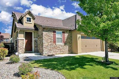 Sparks Single Family Home New: 5328 Vista Heights