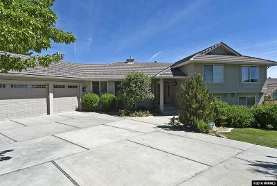 Reno Single Family Home New: 12945 Welcome Way