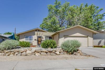 Reno Single Family Home New: 1425 Exeter Way