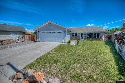 Carson City Single Family Home New: 2555 Macy Court
