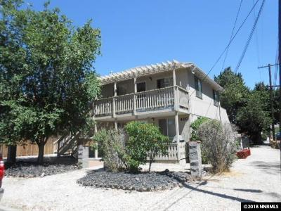 Carson City Multi Family Home For Sale: 410 E Spear
