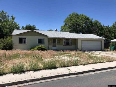 Sparks Single Family Home Active/Pending-Call: 485 E Greenbrae