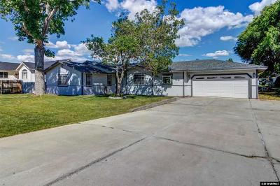 Carson City Single Family Home New: 2219 Gregg Street