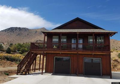 Virginia City Single Family Home New: 40 S O Street