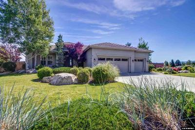 Reno Single Family Home Active/Pending-House: 3491 Painted Vista Dr