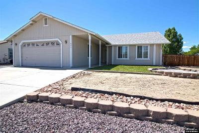 Washoe County Single Family Home New: 833 Alena Way